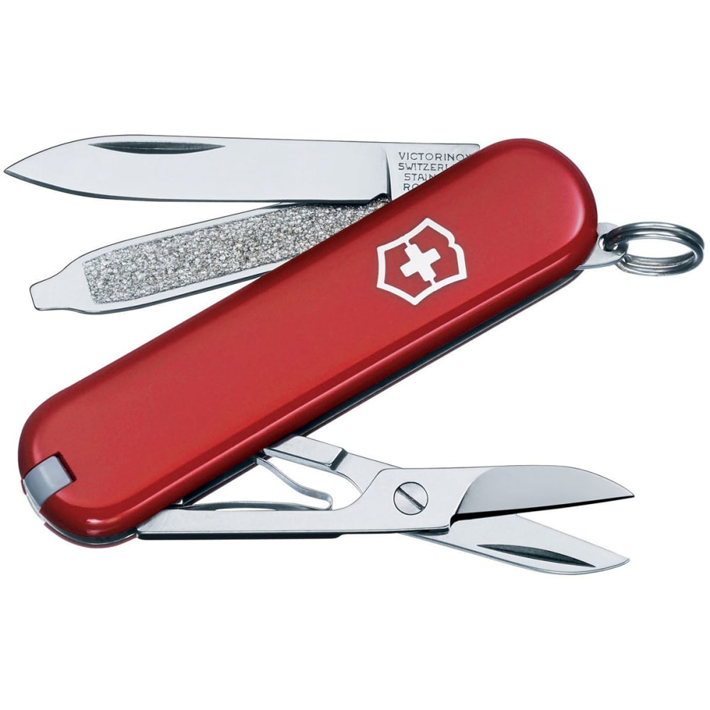 SWISS ARMY Classic Knife with Toothpick - RED/56011