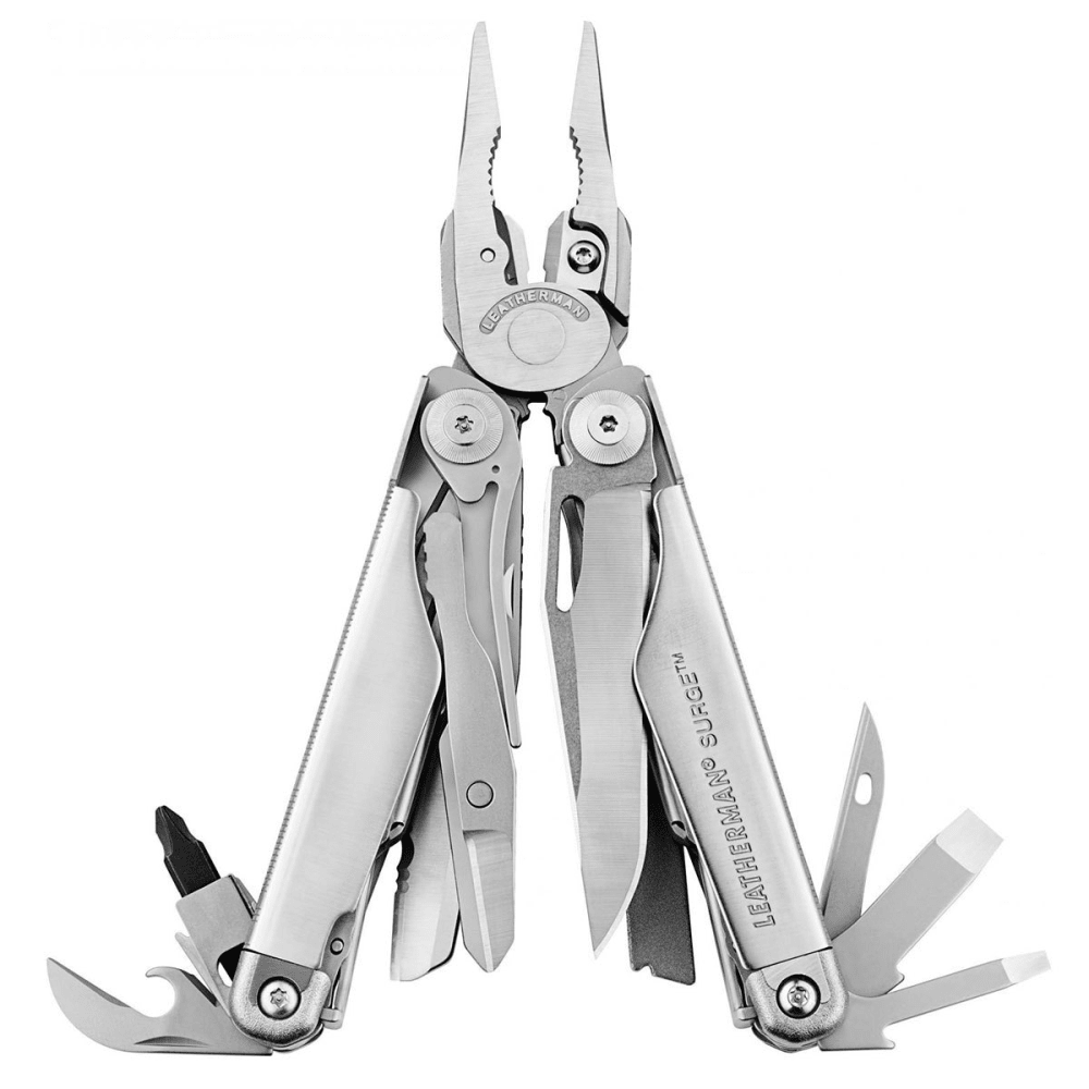LEATHERMAN Surge Multitool - STAINLESS STEEL