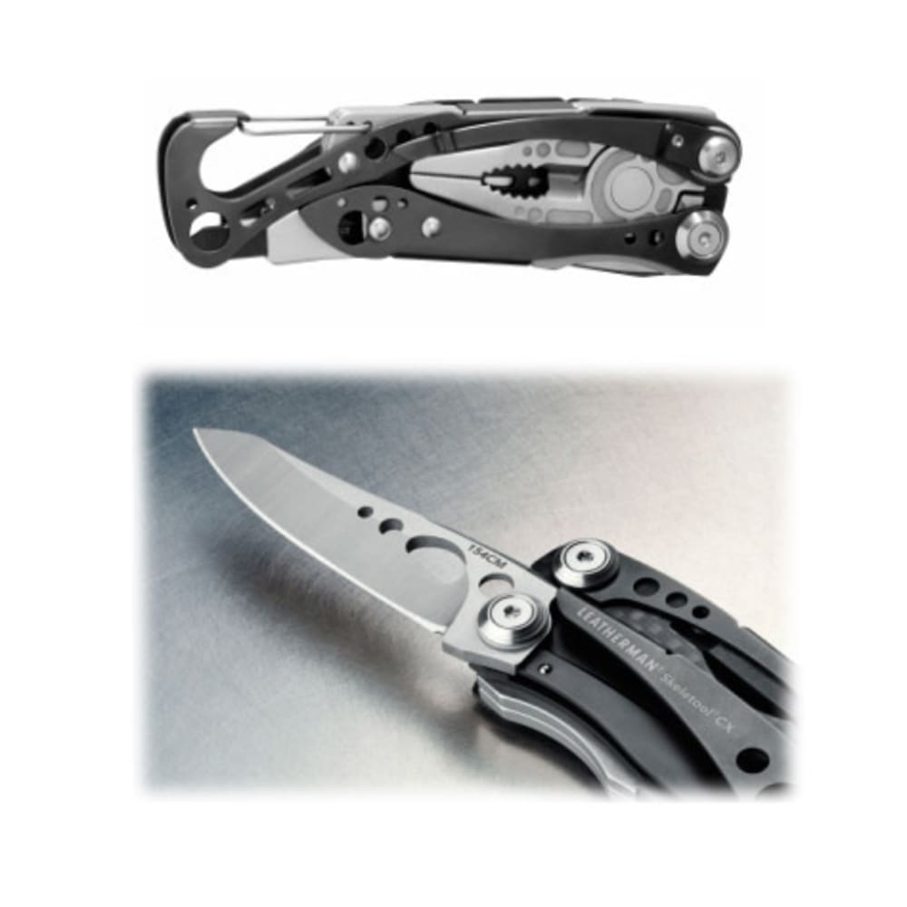 LEATHERMAN Skeletool CX Multitool - BLACK