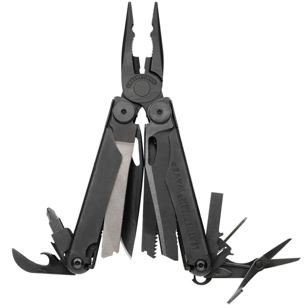 LEATHERMAN Wave Multitool - BLACK OXIDE