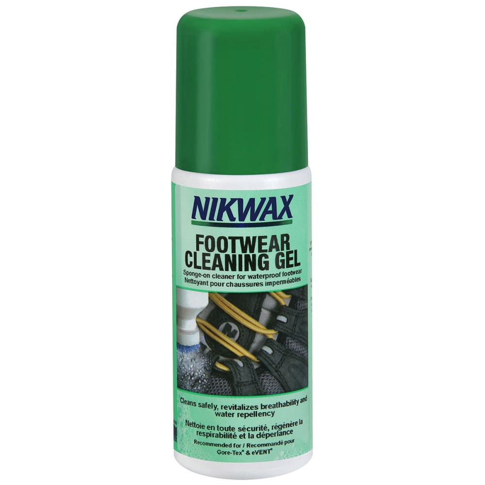NIKWAX Footwear Cleaning Gel - BLACK/SILVER