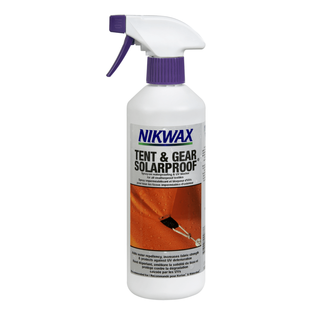NIKWAX Tent and Gear Solarproof Weatherproofing Spray - NONE