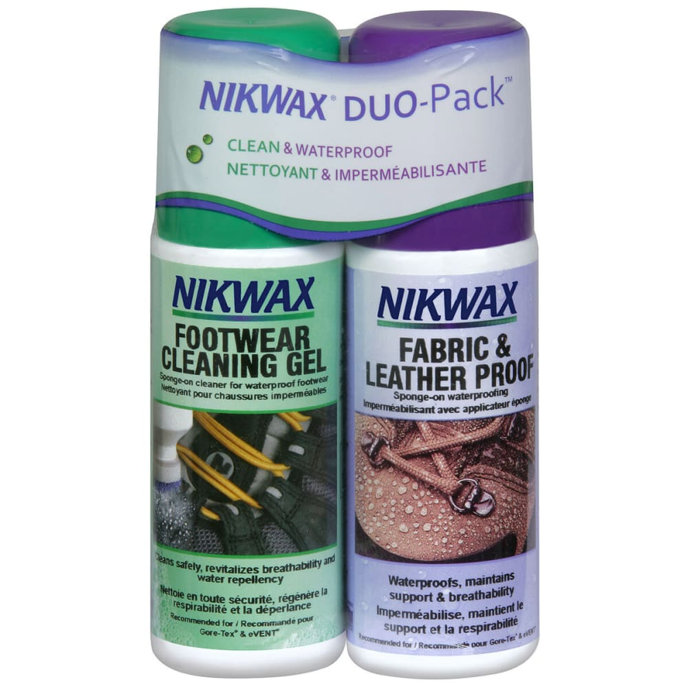 NIKWAX Fabric/Leather and Cleaner, Twin-Pack - NONE