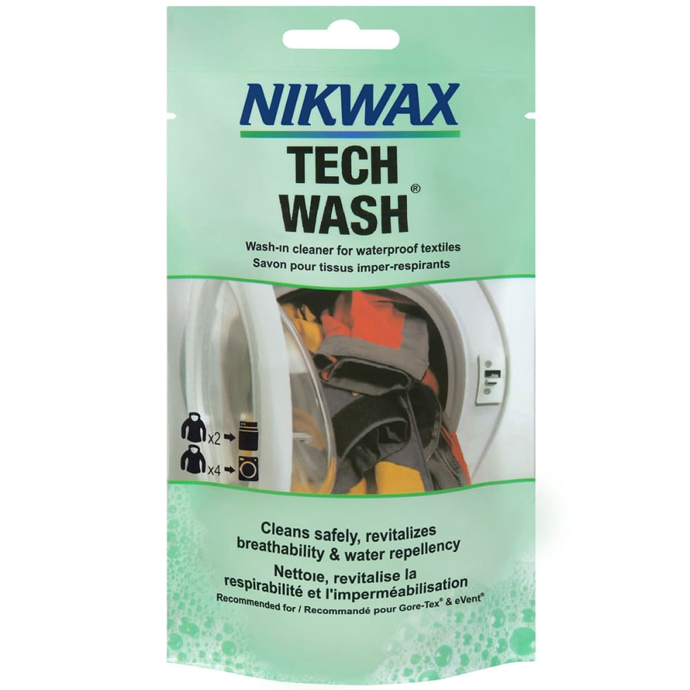NIKWAX Tech Wash Concentrate, 100 ml - FOREST/BLACK