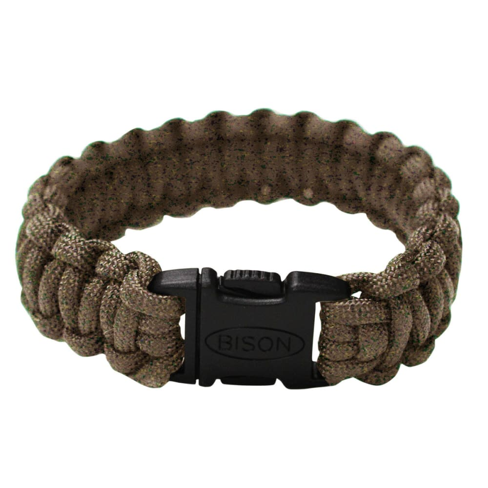 Bison Side Release Cobra Bracelet - DARK BROWN