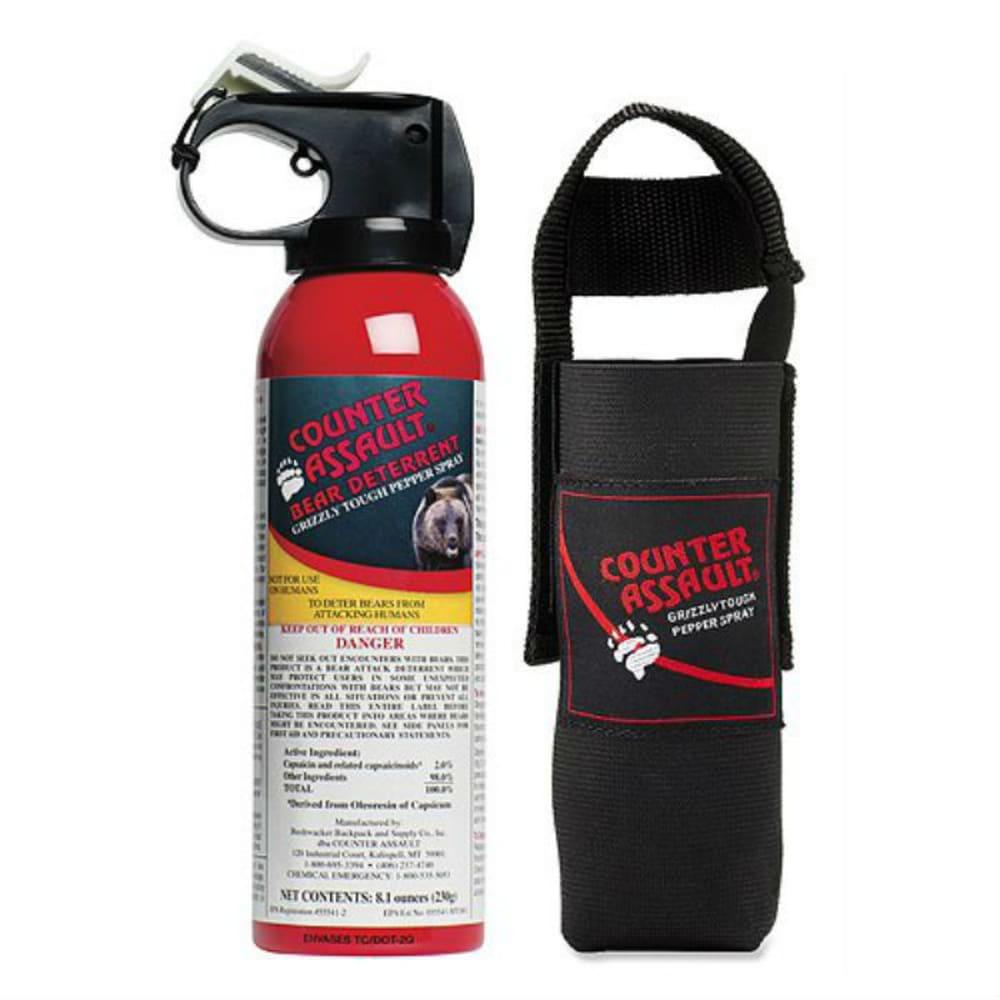COUNTER ASSAULT Bear Deterrent Spray, 8.1 oz. - NONE