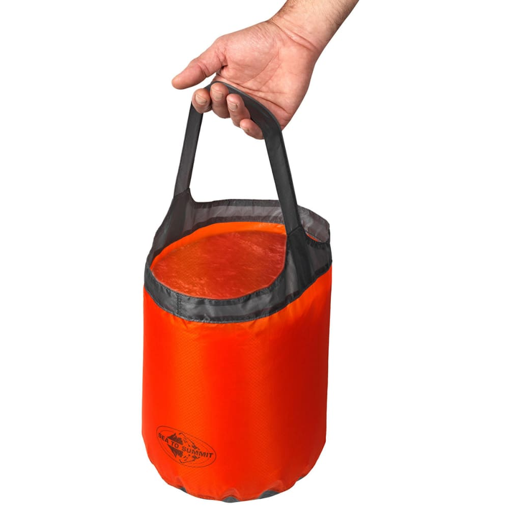 SEA TO SUMMIT Ultra-Sil Folding Bucket, 10 L - RED