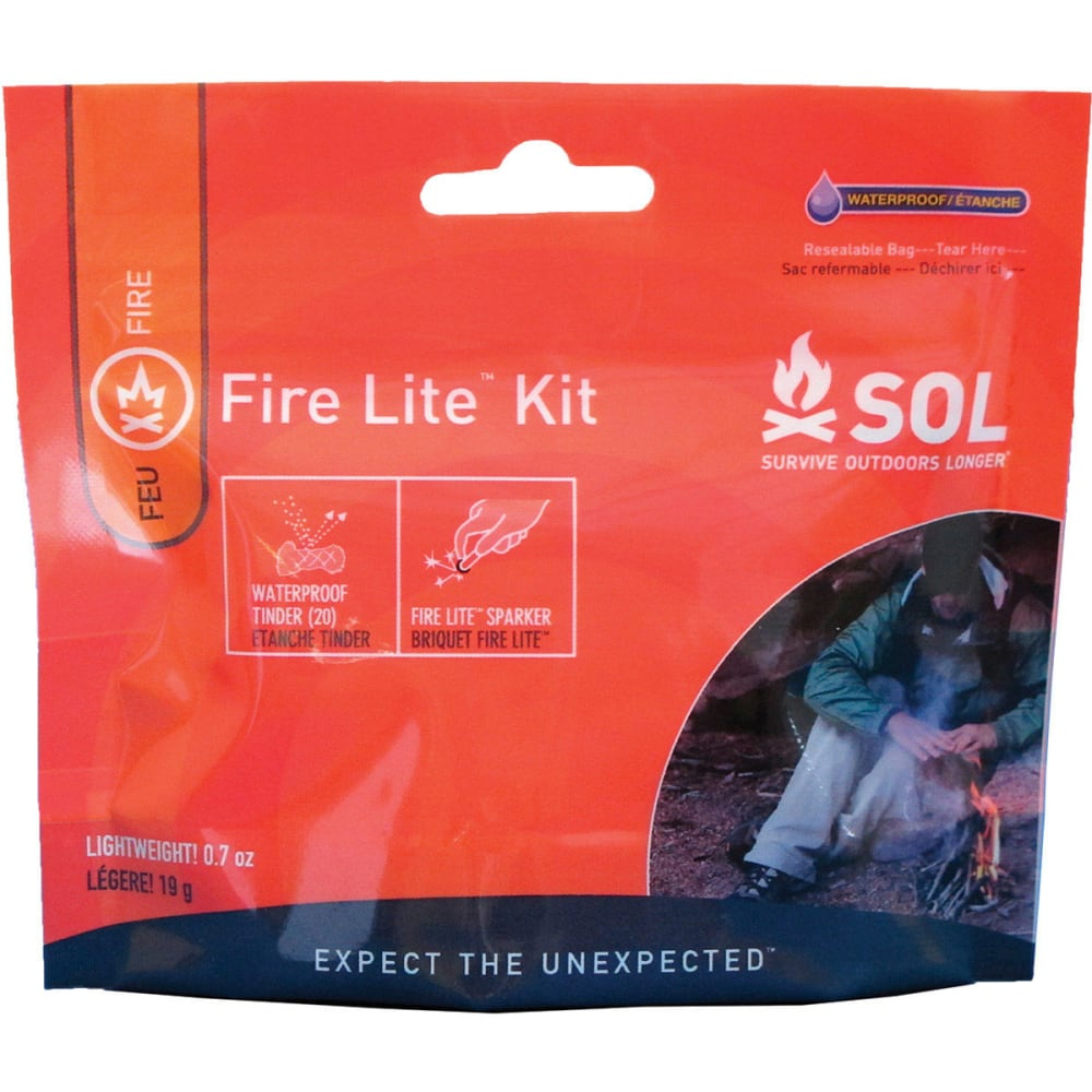 SOL Fire Lite with Tinder Quik