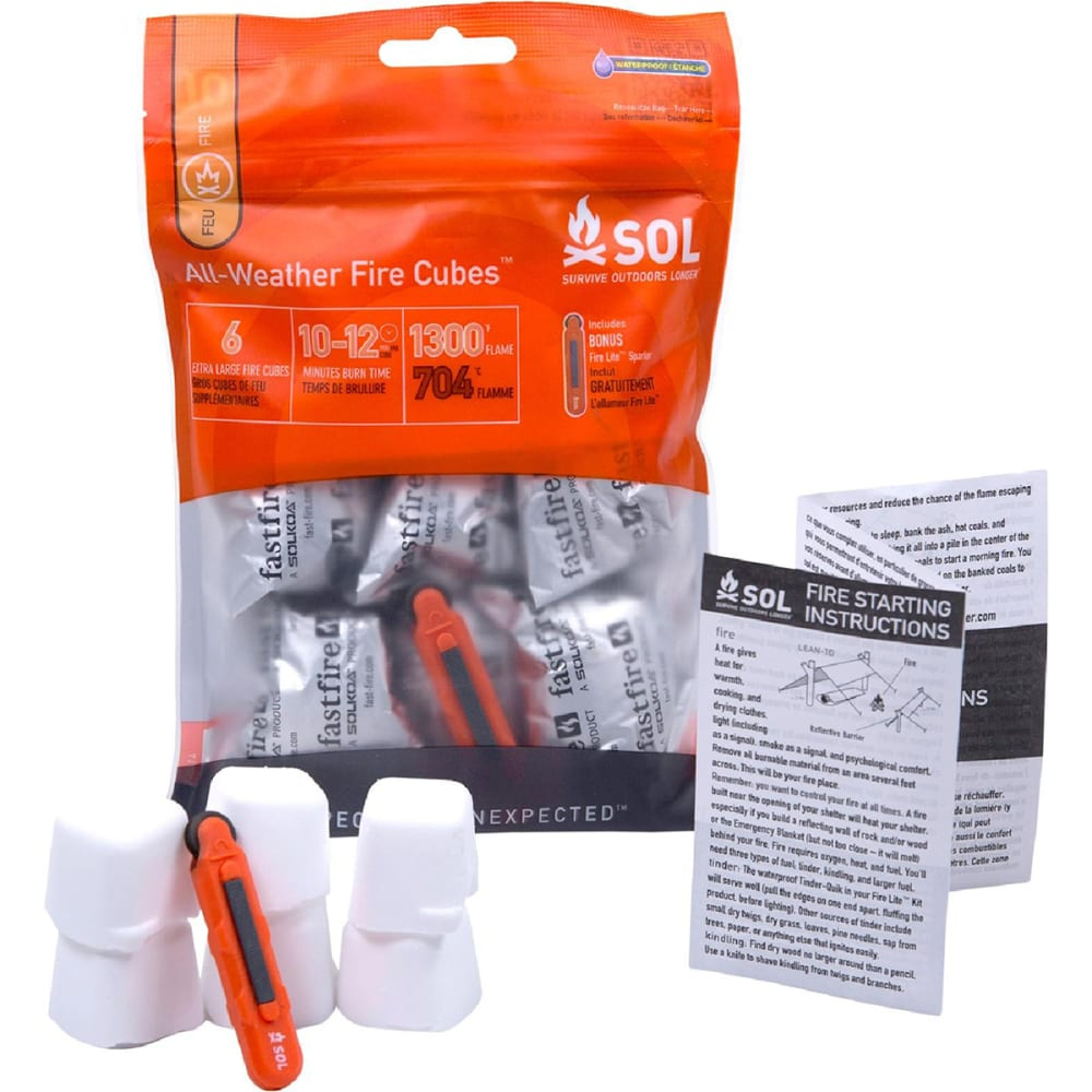 AMK SOL All-Weather Fire Cubes NO SIZE