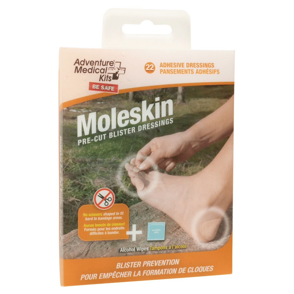 AMK Moleskin Blister Dressing - NONE