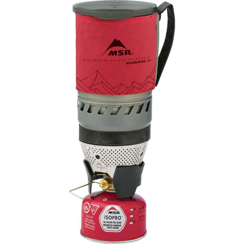 MSR WindBurner Stove System - RED