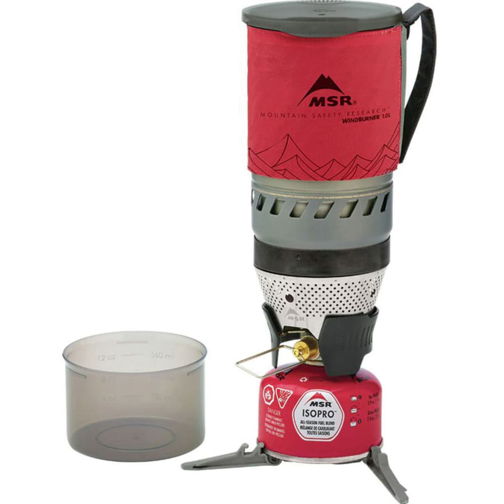 MSR WindBurner™ Stove System - RED