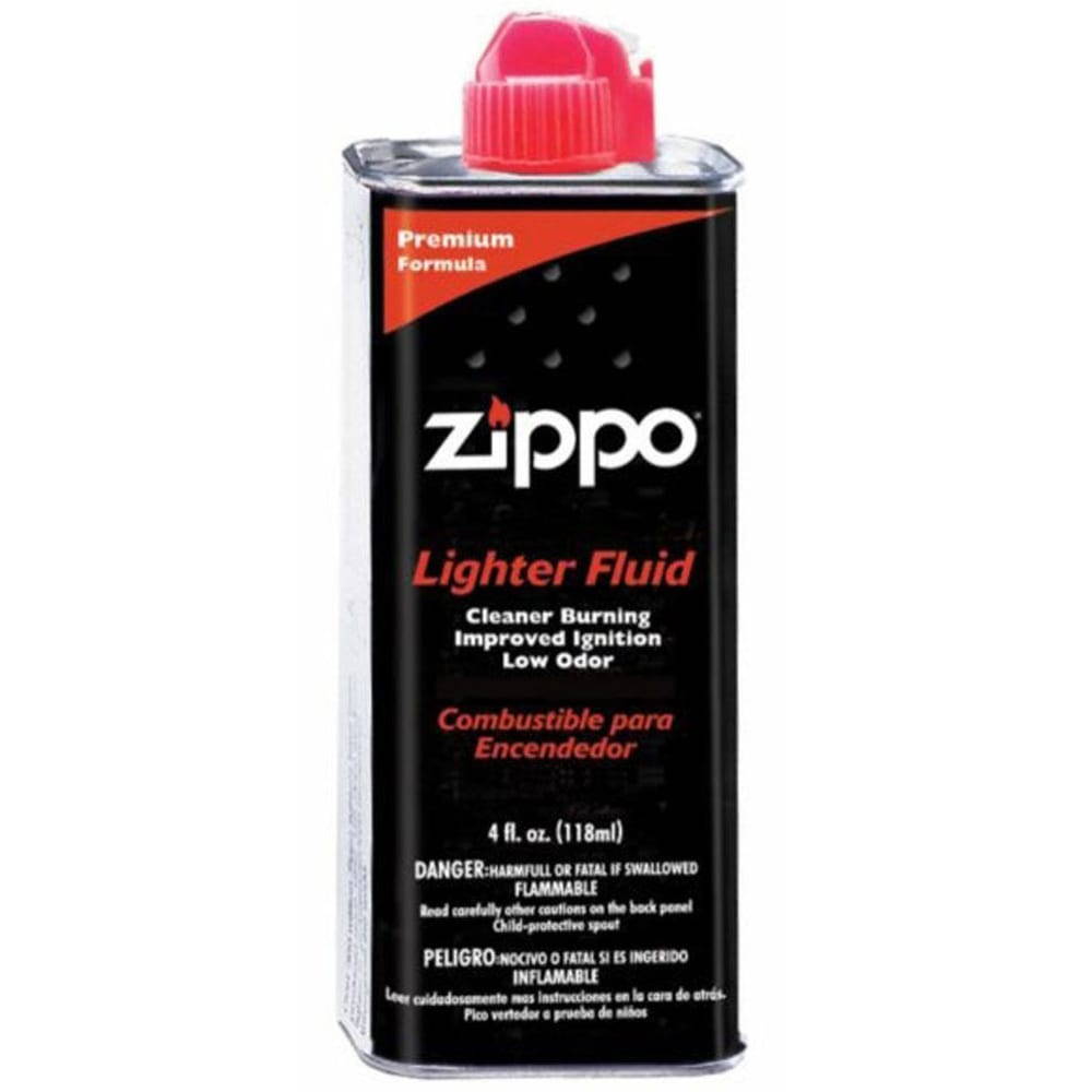 ZIPPO Premium Lighter Fluid, 4 oz. - NONE