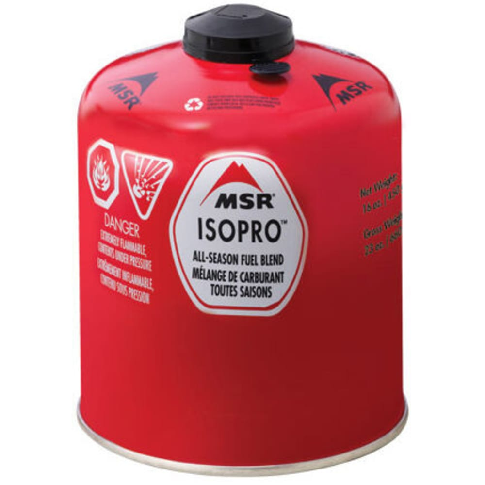 MSR IsoPro Fuel Canister, 16 oz. - NONE
