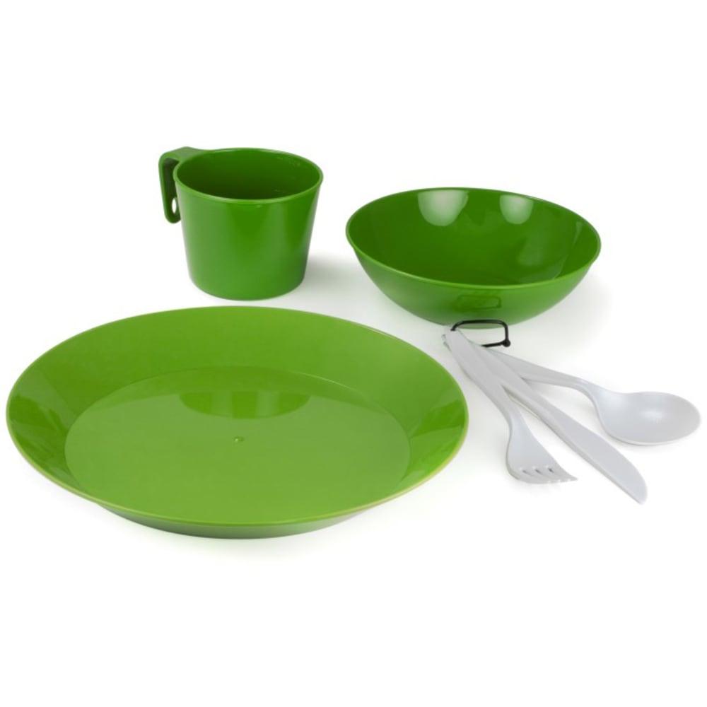 GSI 1-Person Camp Dish Set - GREEN/77313
