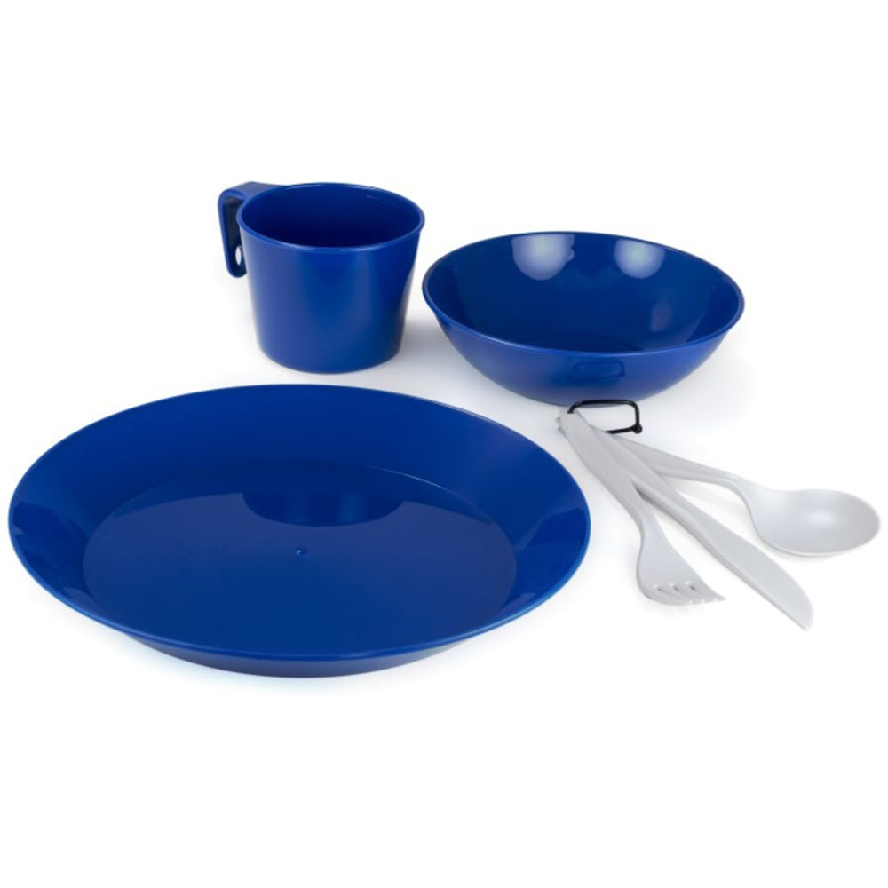 GSI 1-Person Camp Dish Set - BLUE/ 77381