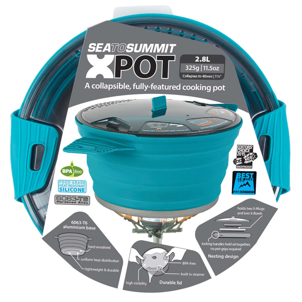 SEA TO SUMMIT X-Pot 2.8 L  - PACIFIC BLUE