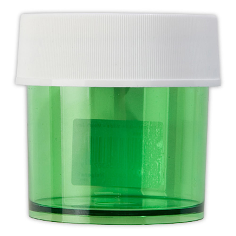 NALGENE Lexan Jar, Colored, 4 oz. - GREEN