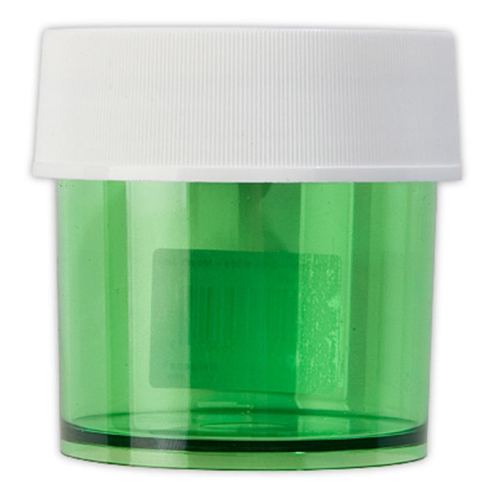 NALGENE Lexan Jar, Colored, 4 oz. - GREEN