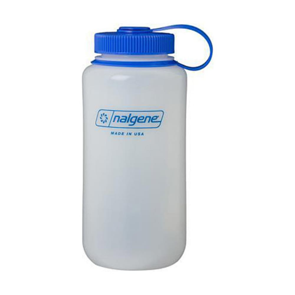 NALGENE HDPE Wide-Mouth Bottle, 32 oz. - WHITE
