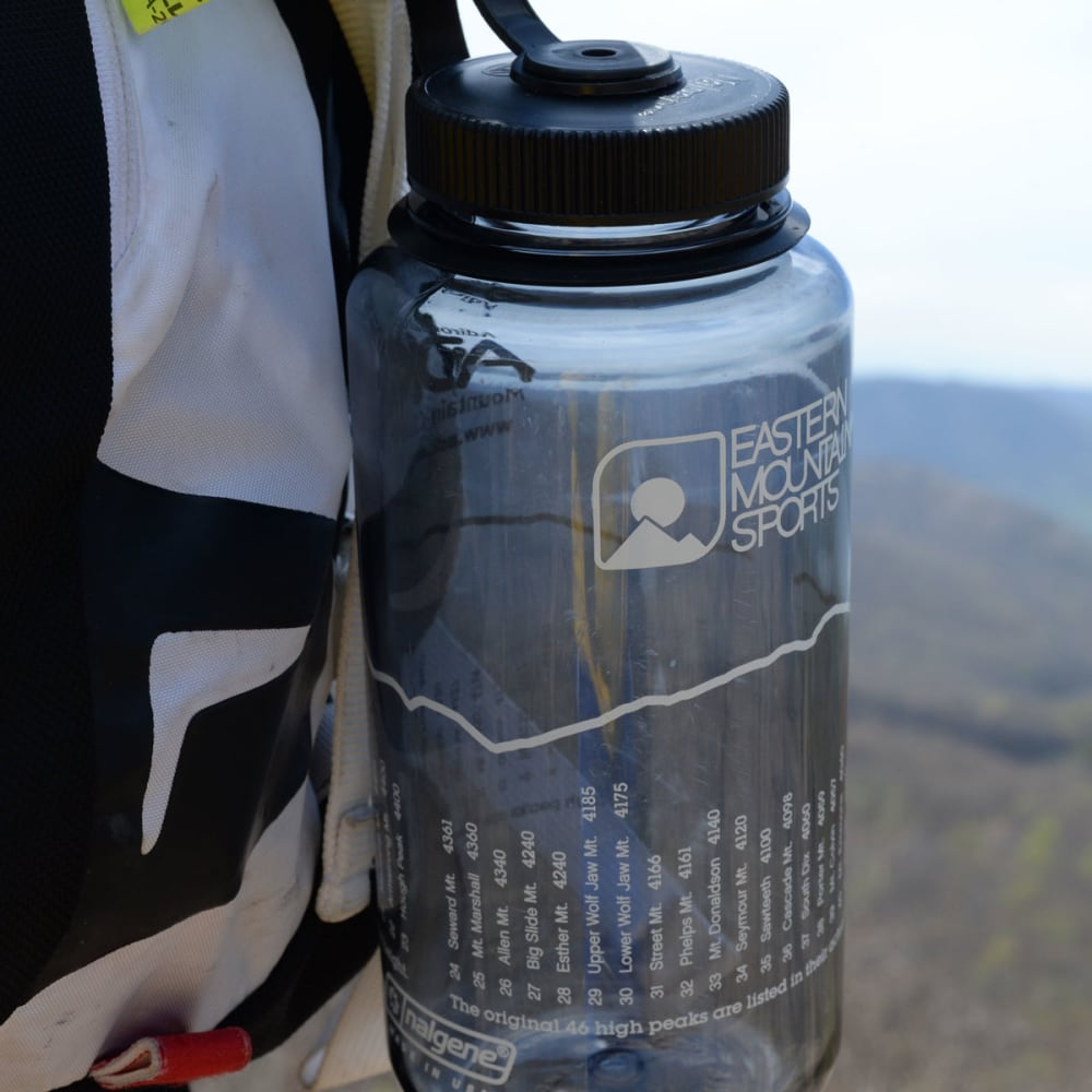 NALGENE Adirondack High Peaks 32 oz. Wide Mouth Bottle - GRAY