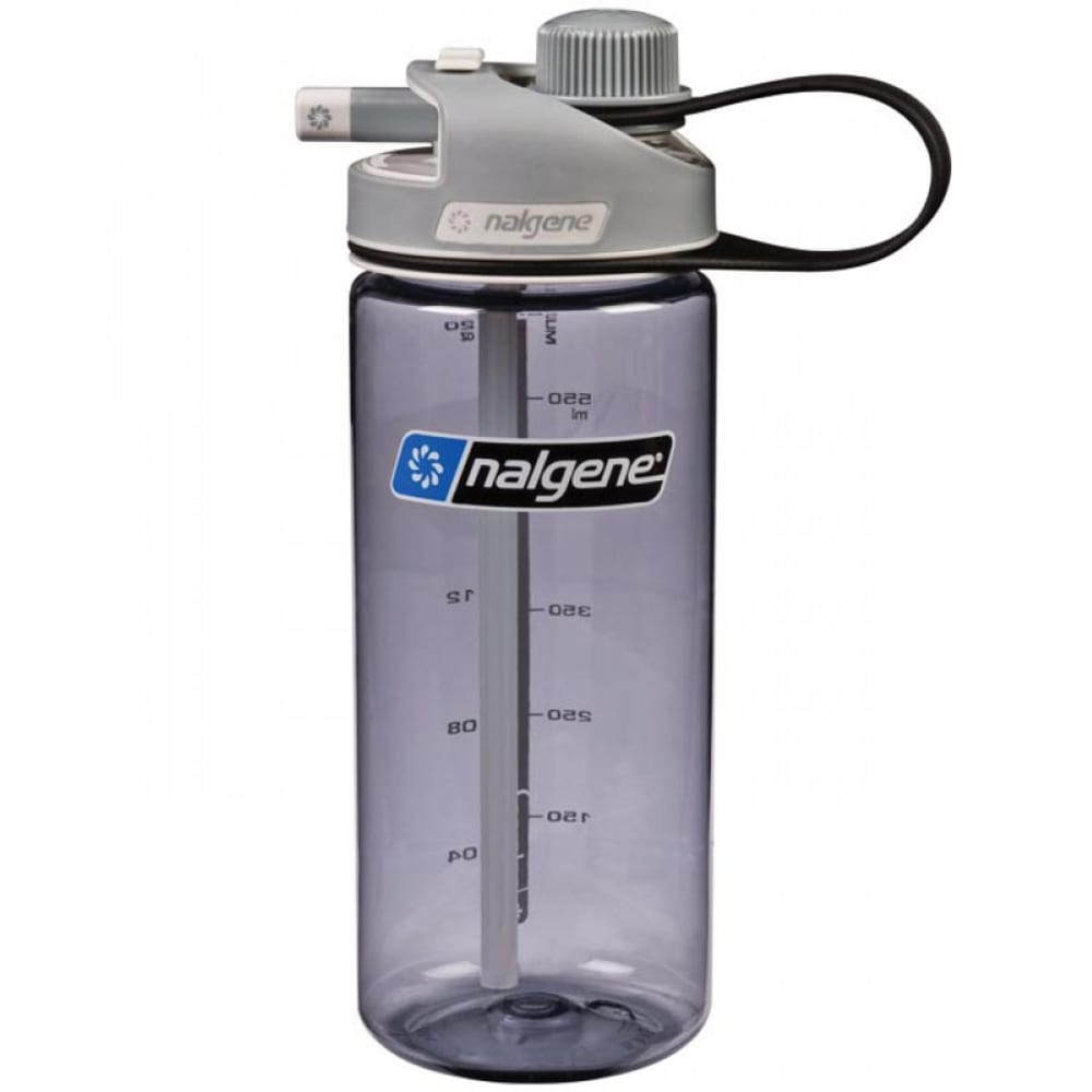NALGENE MultiDrink Water Bottle - GRAY