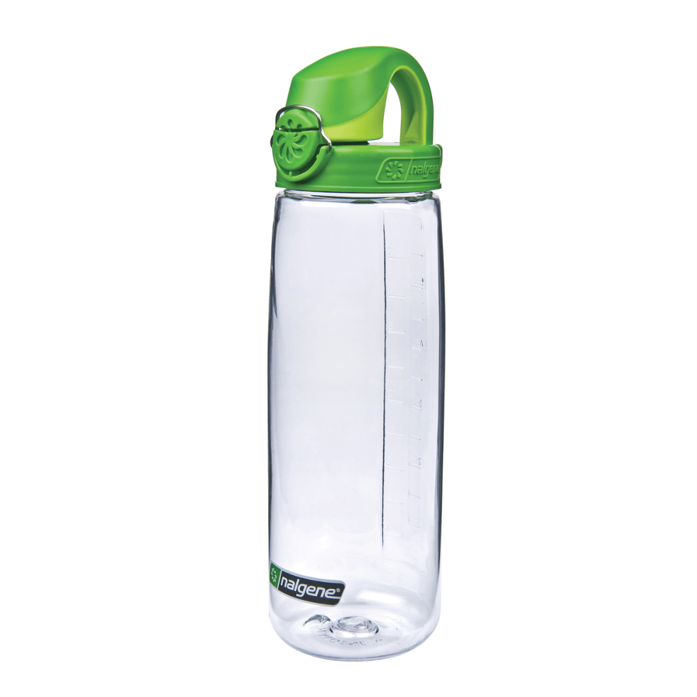 NALGENE On the Fly Water Bottle - CLEAR/GREEN