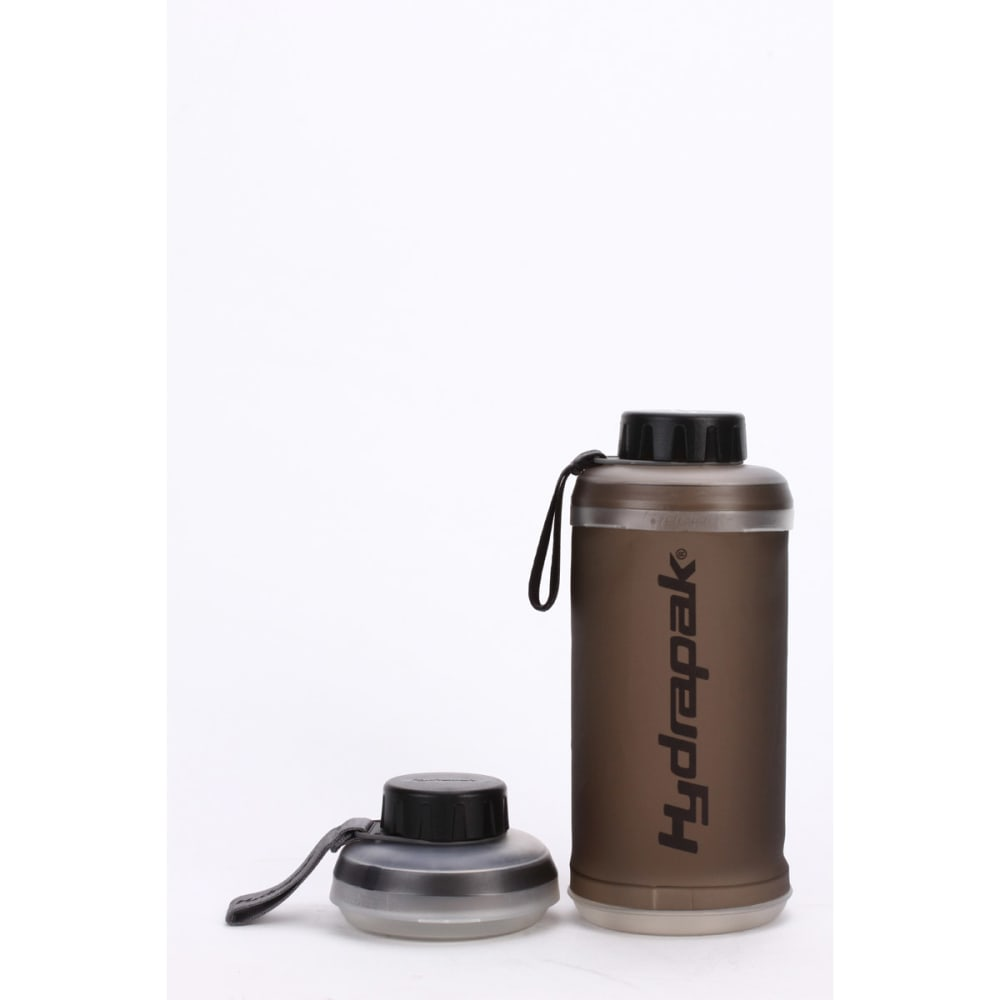 HYDRAPAK Stash Water Bottle - SMOKE