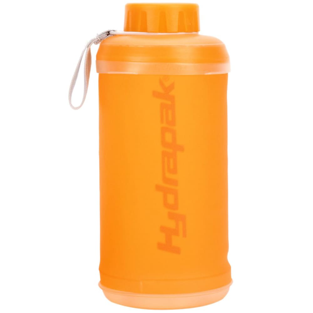 HYDRAPAK Stash Water Bottle - ORANGE