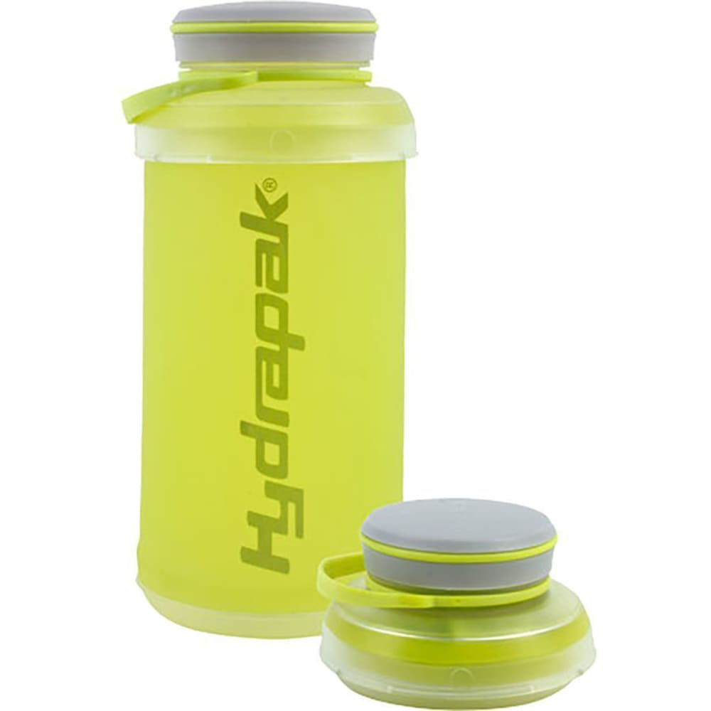HYDRAPAK Stash Water Bottle, 1L - LIME