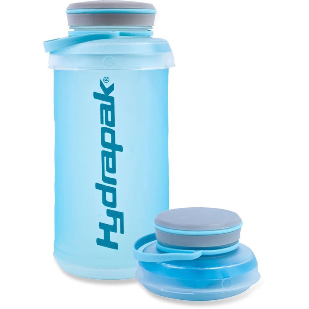 HYDRAPAK Stash Water Bottle, 1L - BLUE