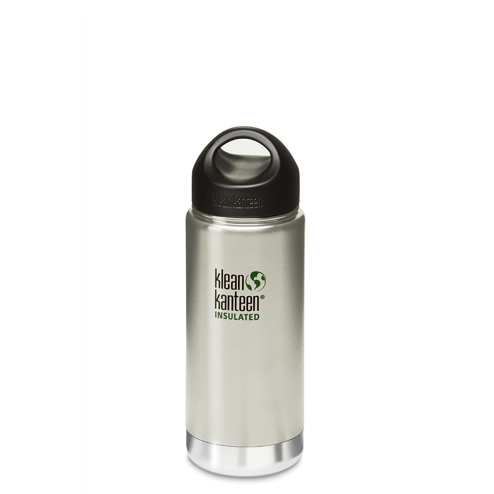 KLEAN KANTEEN Wide Mouth Insulated Water Bottle - STAINLESS/DISC