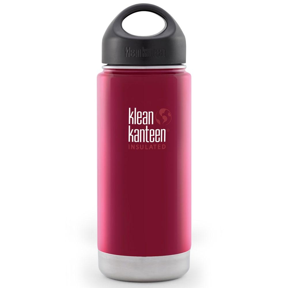 KLEAN KANTEEN Wide Insulated Bottle, 16 oz. - RASPBERRY/DISC