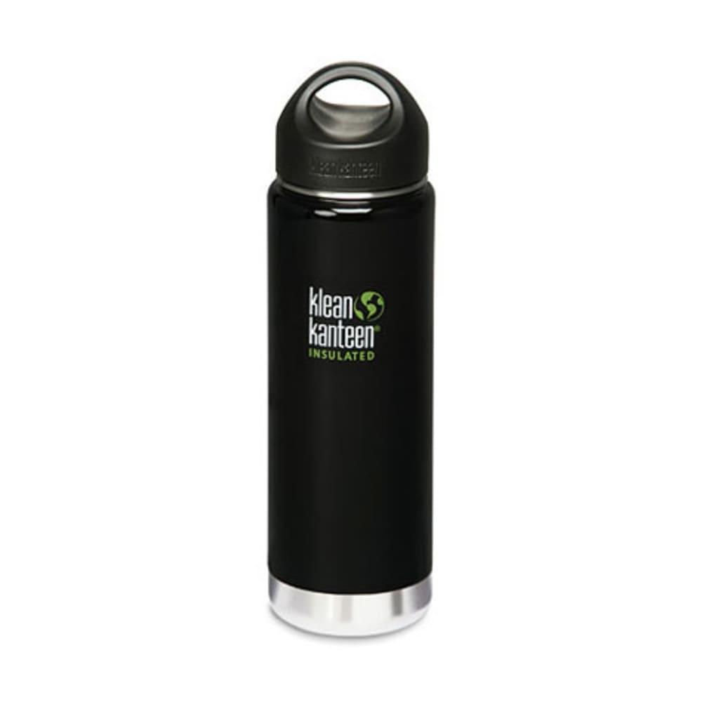 KLEAN KANTEEN Wide Mouth Insulated Bottle, 20 oz. - BLACK