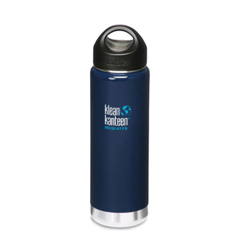 KLEAN KANTEEN Wide Mouth Insulated Bottle, 20 oz. - BLUE