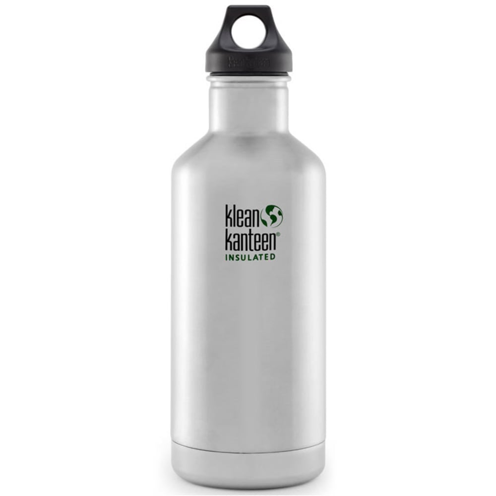 KLEAN KANTEEN Insulated 32 oz Water Bottle, Silver - SILVER