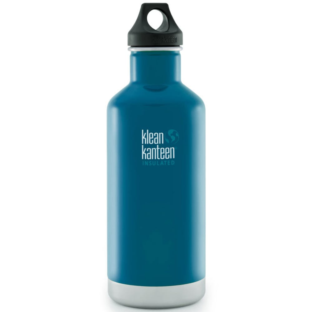 KLEAN KANTEEN Insulated 32 oz Water Bottle, Blue - BLUE