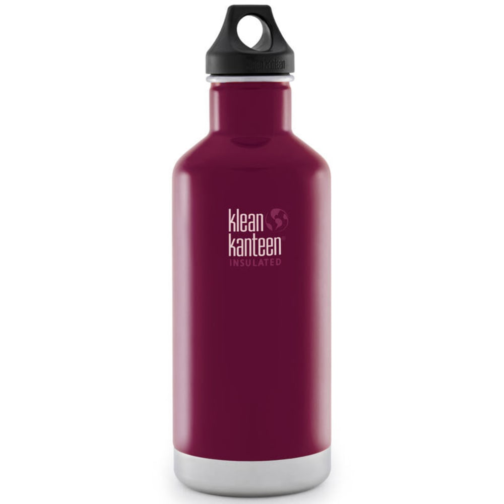 KLEAN KANTEEN Insulated 32 oz Water Bottle, Wine - WINE