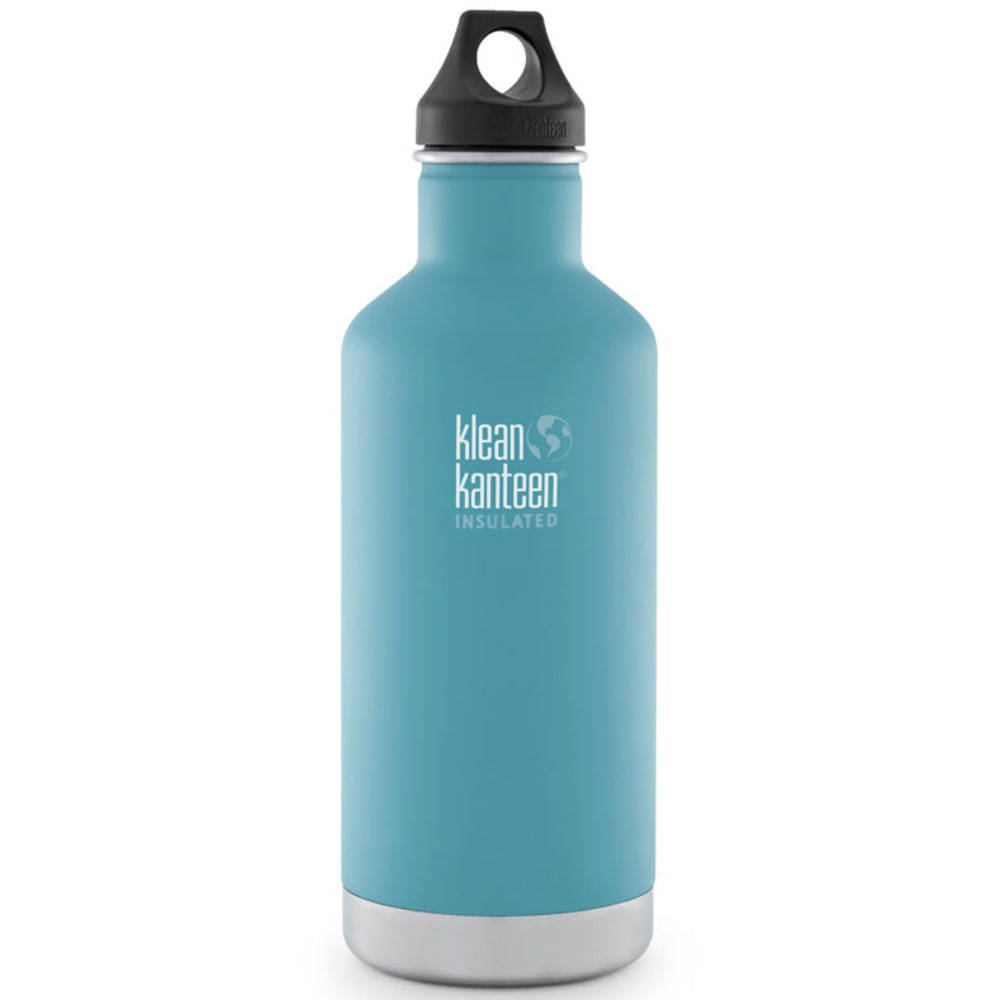 KLEAN KANTEEN Insulated 32 oz Water Bottle, Light Blue - LIGHT BLUE