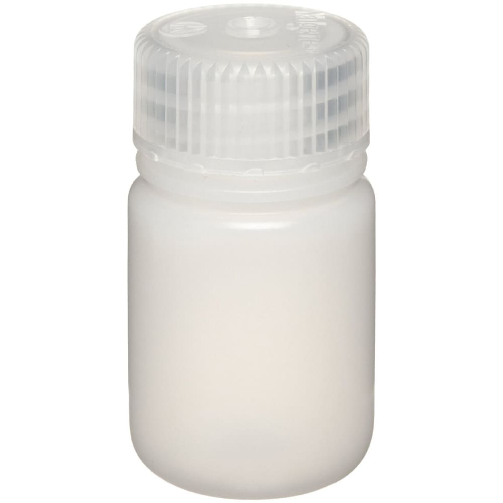 NALGENE Wide-Mouth Bottle, 1 oz. - NONE
