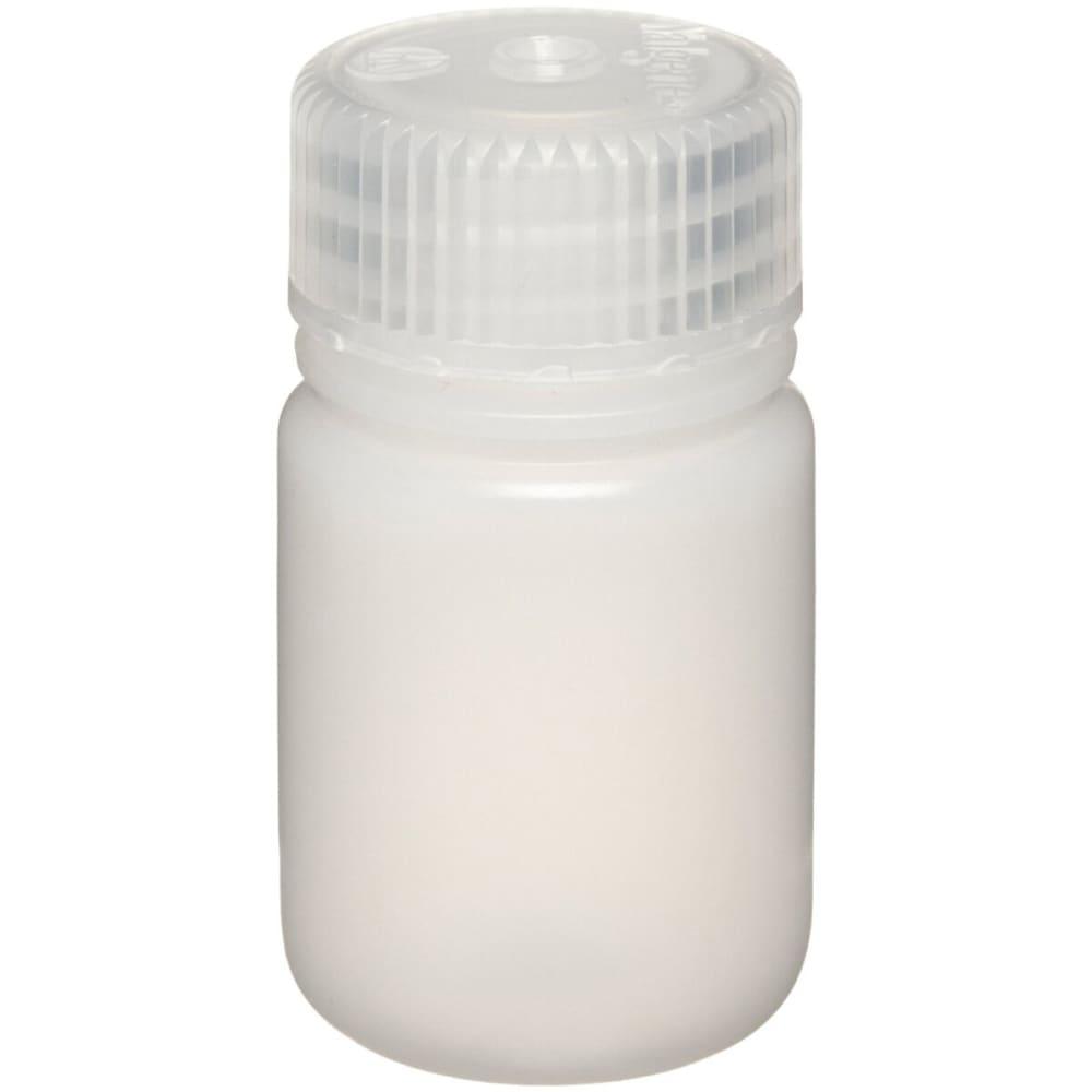 NALGENE Wide-Mouth Bottle, 1 oz. - NONE