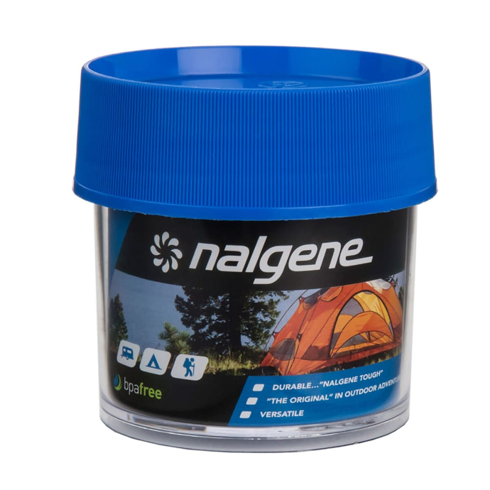 NALGENE Wide Mouth Storage Bottle, 4 oz. - BLUE