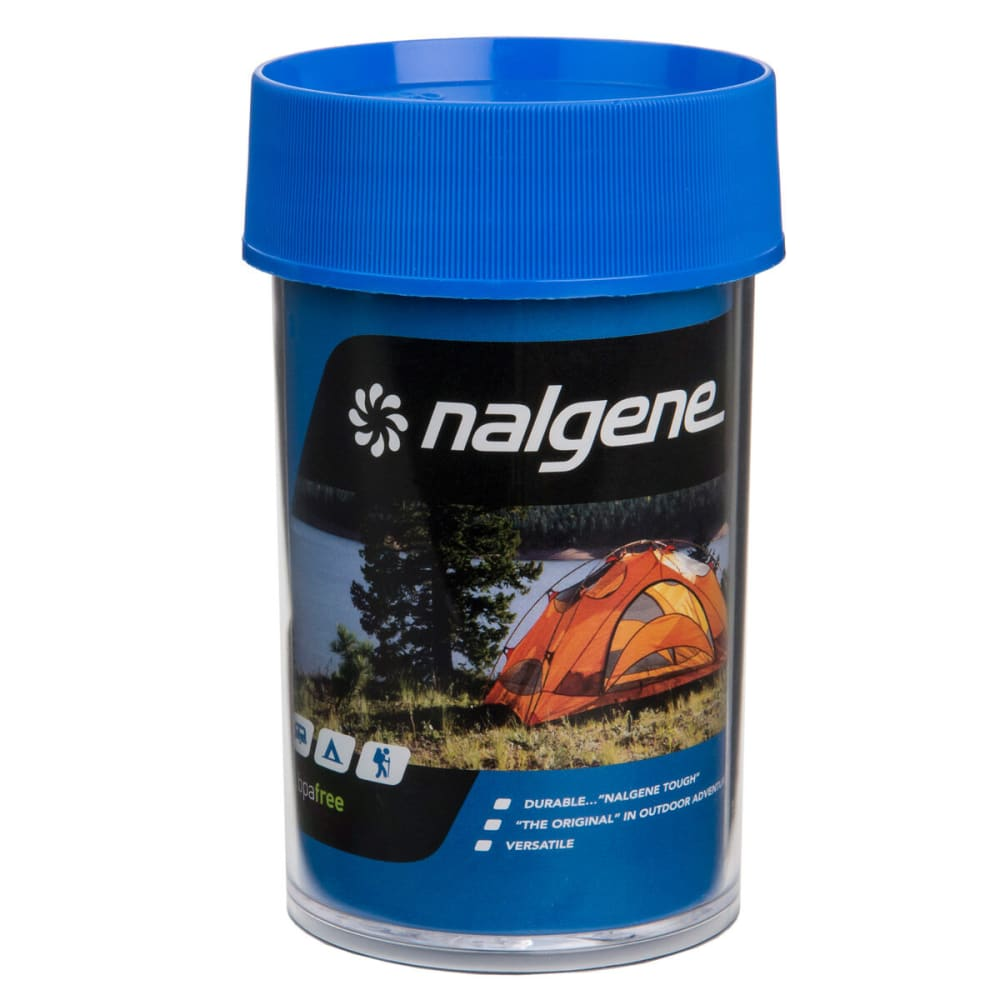 NALGENE Wide Mouth Storage Bottle, 8 oz. - BLUE