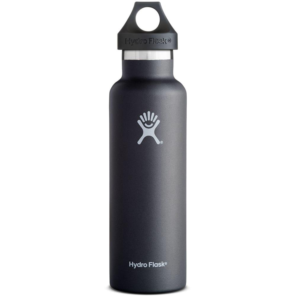HYDRO FLASK Standard Water Bottle, 21 oz. - BLACK