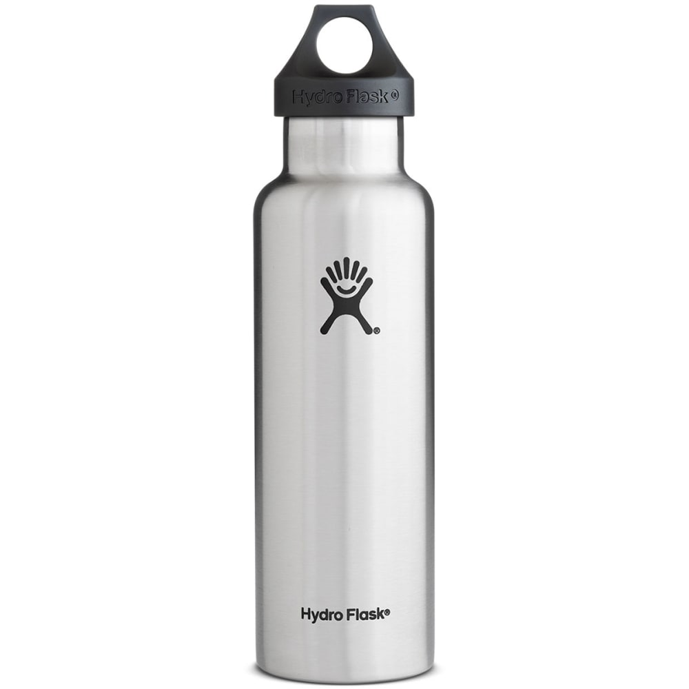 15c0de7ec8 HYDRO FLASK Standard Water Bottle, 21 oz. - STAINLESS STEEL