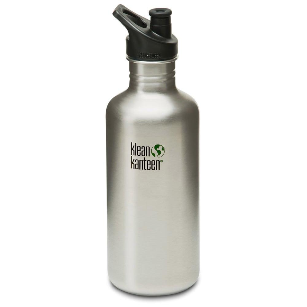 KLEAN KANTEEN Stainless Steel Sport Cap Bottle, 40 oz. - STAINLESS