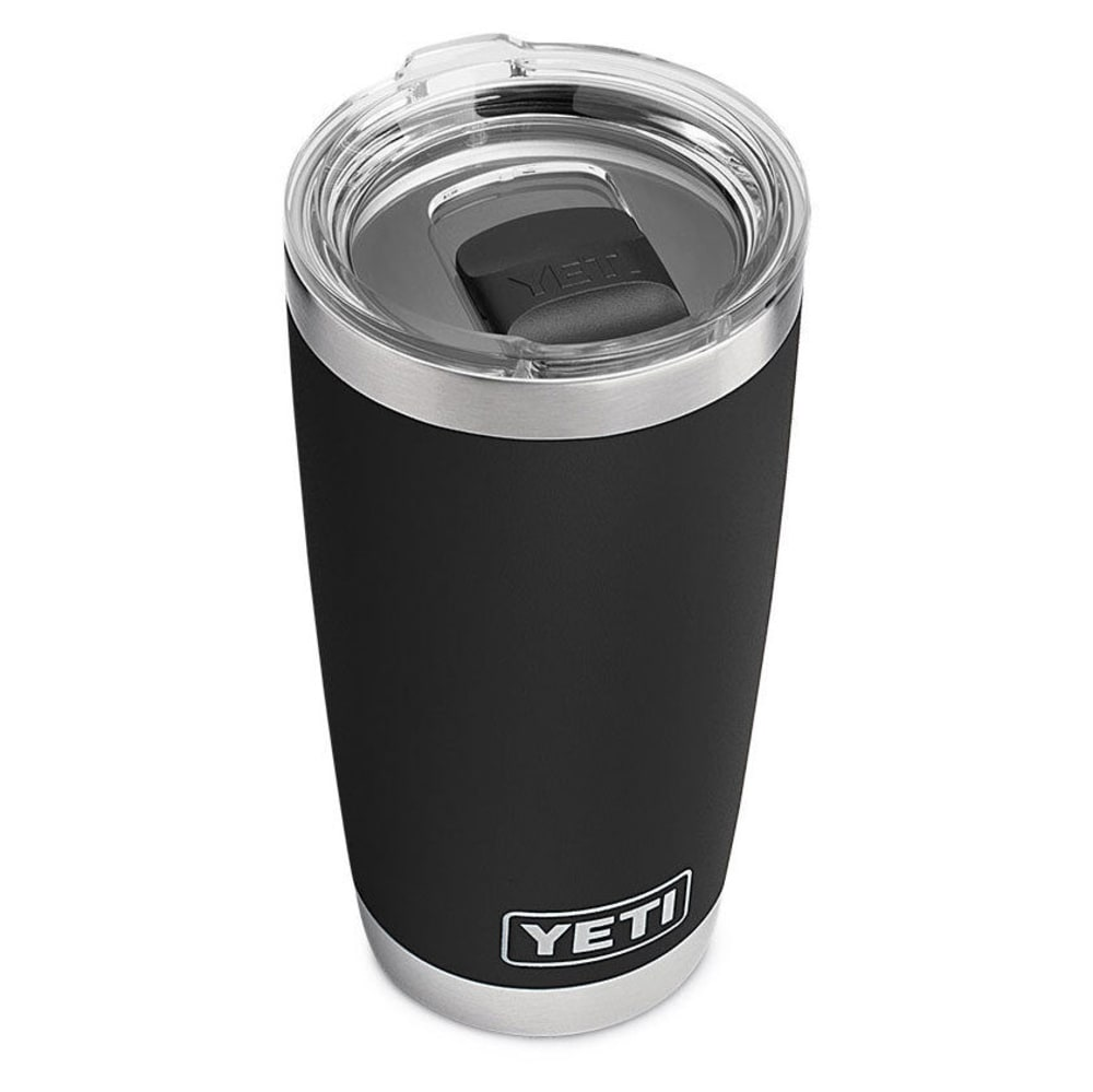 YETI Rambler 20 oz. Stainless Steel Vacuum-Insulated Tumbler with Lid - BLACK