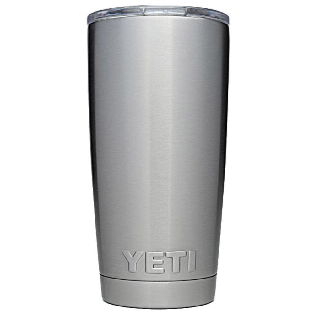 YETI Rambler 20 oz. Stainless Steel Vacuum-Insulated Tumbler with Lid - STAINLESS
