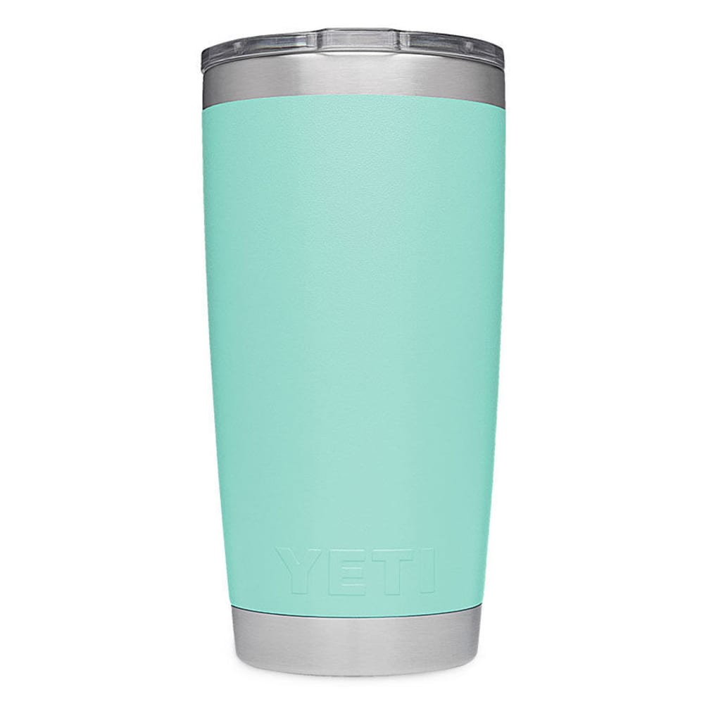 YETI Rambler 20 oz. Stainless Steel Vacuum-Insulated Tumbler with Lid - SEAFOAM