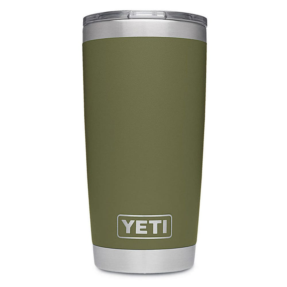 Yeti Rambler 20 Stainless Steel Vacuum-Insulated Tumbler With Lid - Green 21070060001